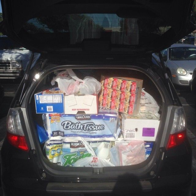 """Love my #hondafitsport. Just went grocery shopping and was able to fit everything in my car. #ge8 #honda #hondafit"" Photo taken by @unclepogi on Instagram, pinned via the InstaPin iOS App! http://www.instapinapp.com (06/23/2014)"