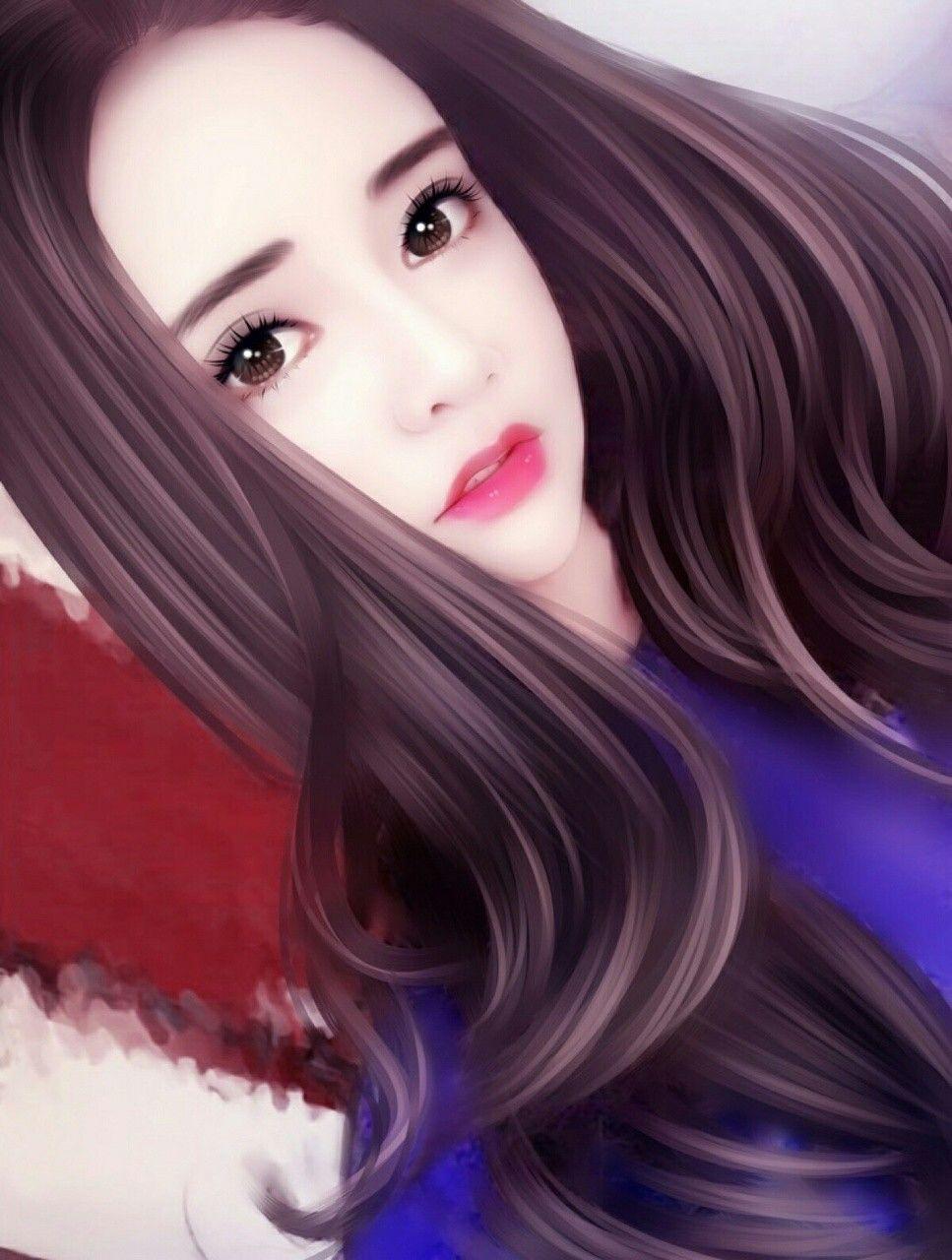 Asian Girls Art