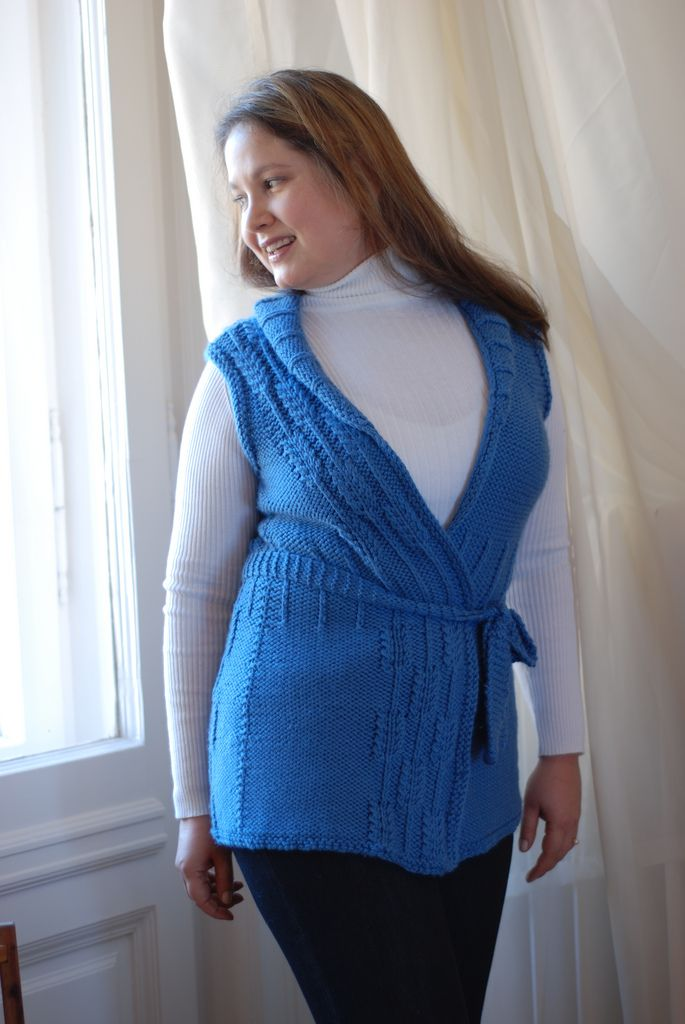 Ravelry: Project Gallery for Far Afield Vest pattern by Connie Chang Chinchio