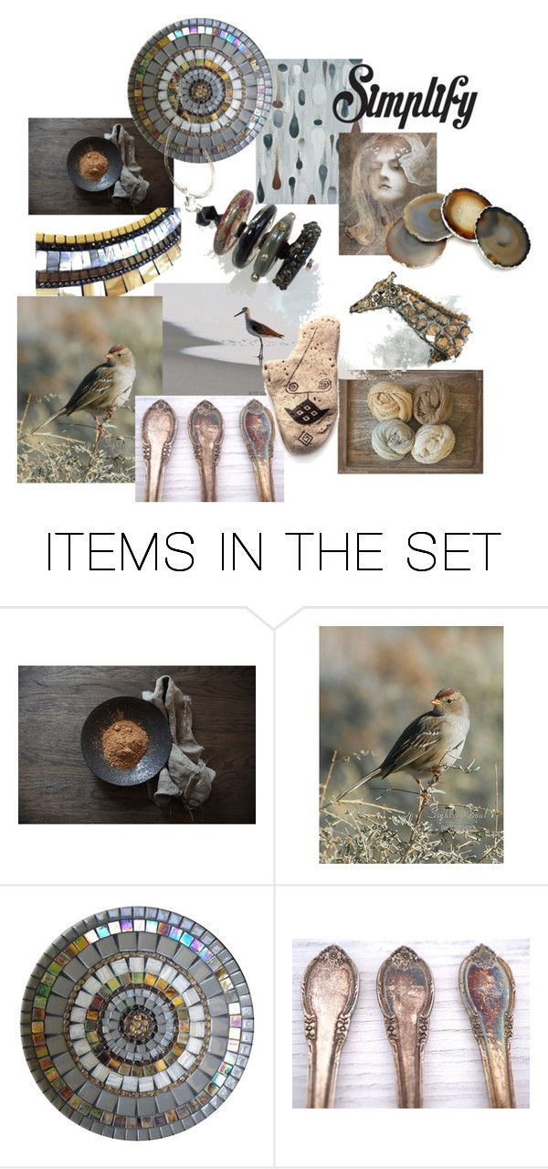 """""""Simplify"""" by kapkadesign ❤ liked on Polyvore featuring art"""
