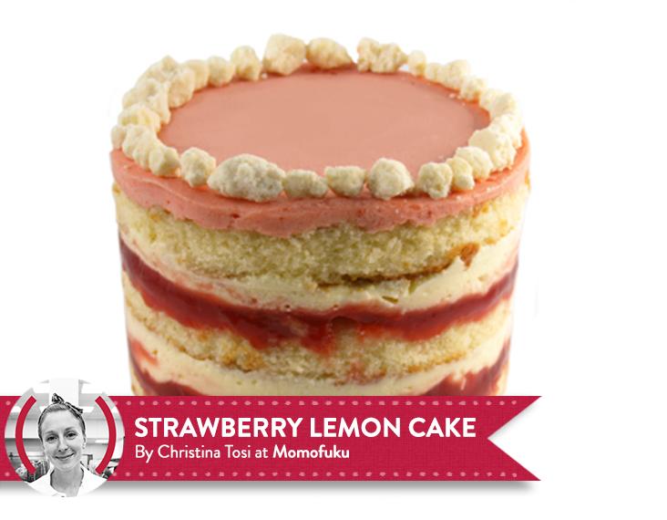 Cake Recipes In Pdf: Strawberry Lemon Cake By Christina Tosi. Full Recipe Here