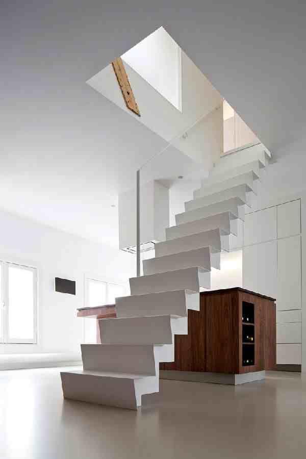 Tangga Rumah Sederhana : tangga, rumah, sederhana, Desain, Tangga, Rumah, Melayang, Minimalis, Sederhana, Modern,, Tangga,
