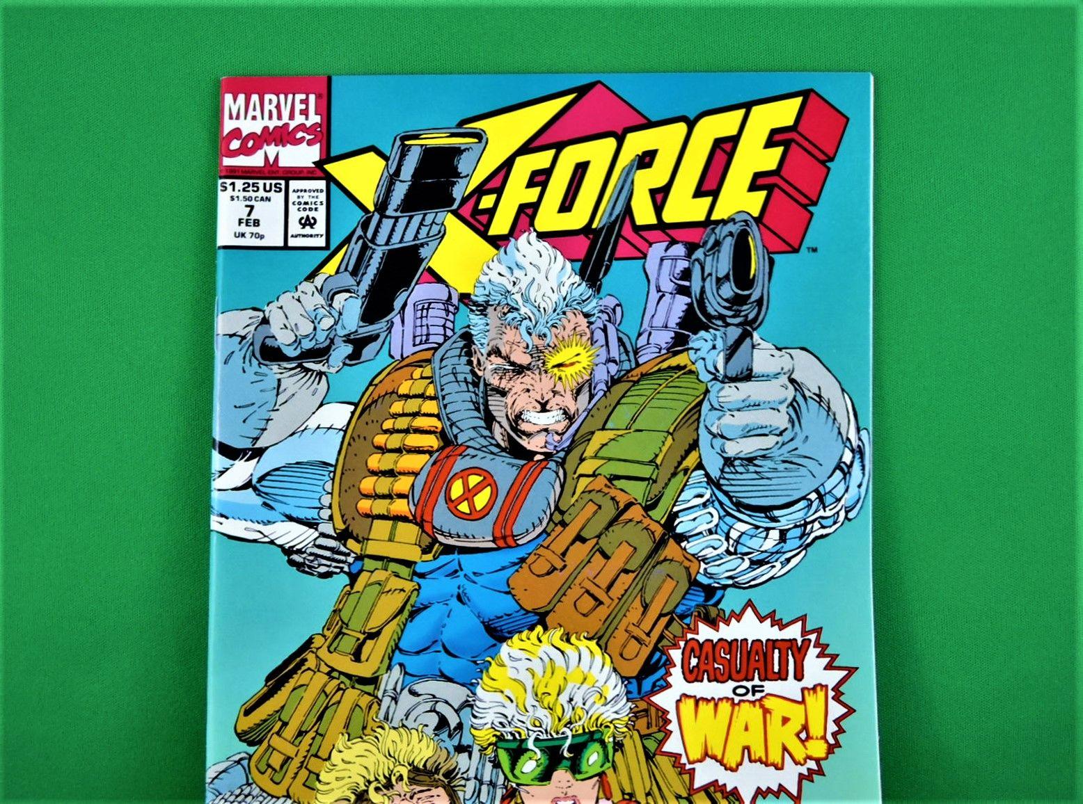 Marvel Comics X Force 7 February 1992 In 2020 Marvel Comics Marvel Comics