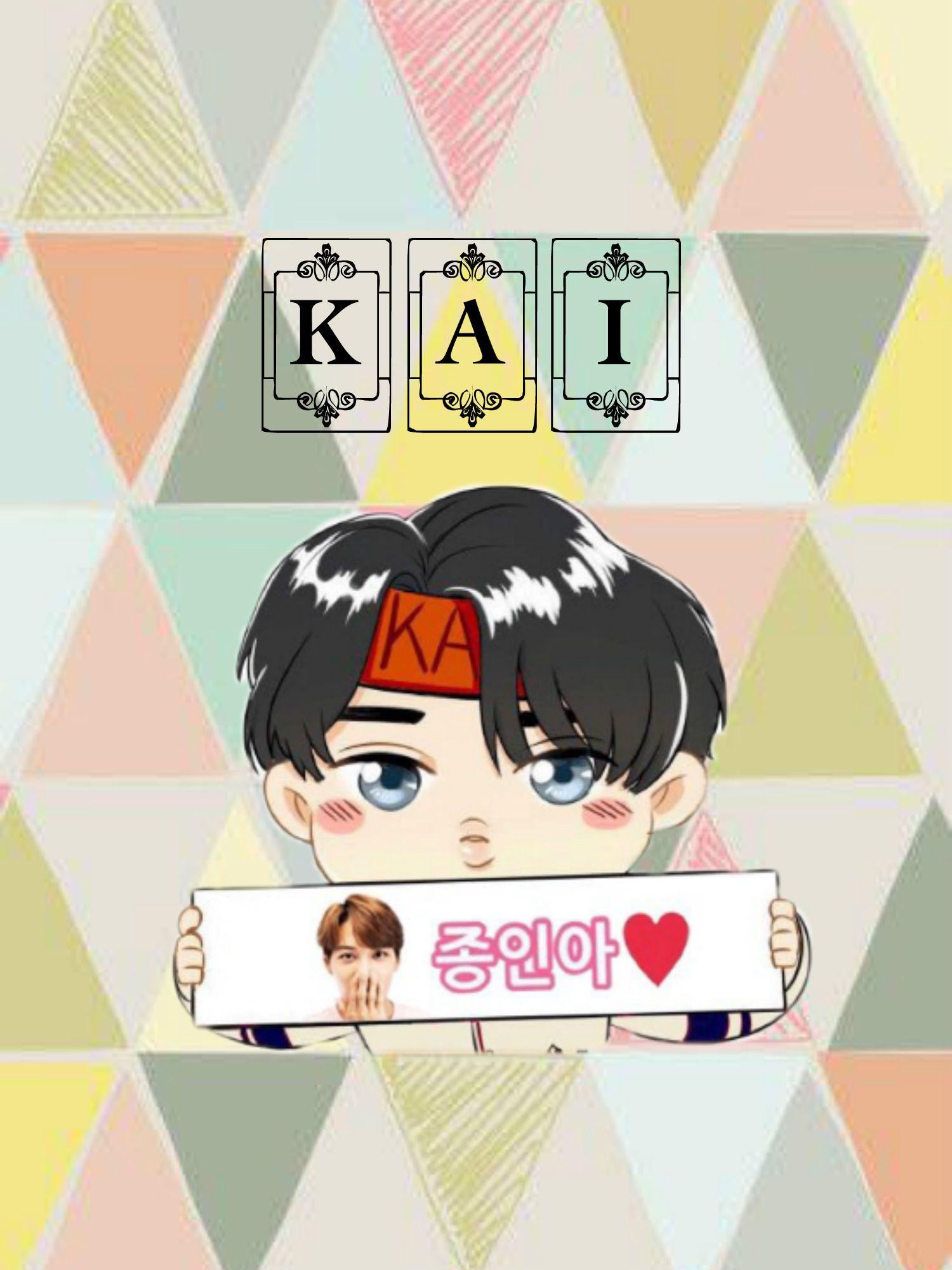 Kai Chibi Wallpaper Exo Chibi Wallpaper Exo Art Chibi