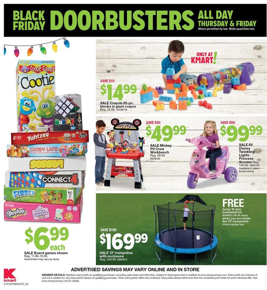 Kmart Coupons Kmart Black Friday 2018 Ads And Deals Browse The Kmart Black