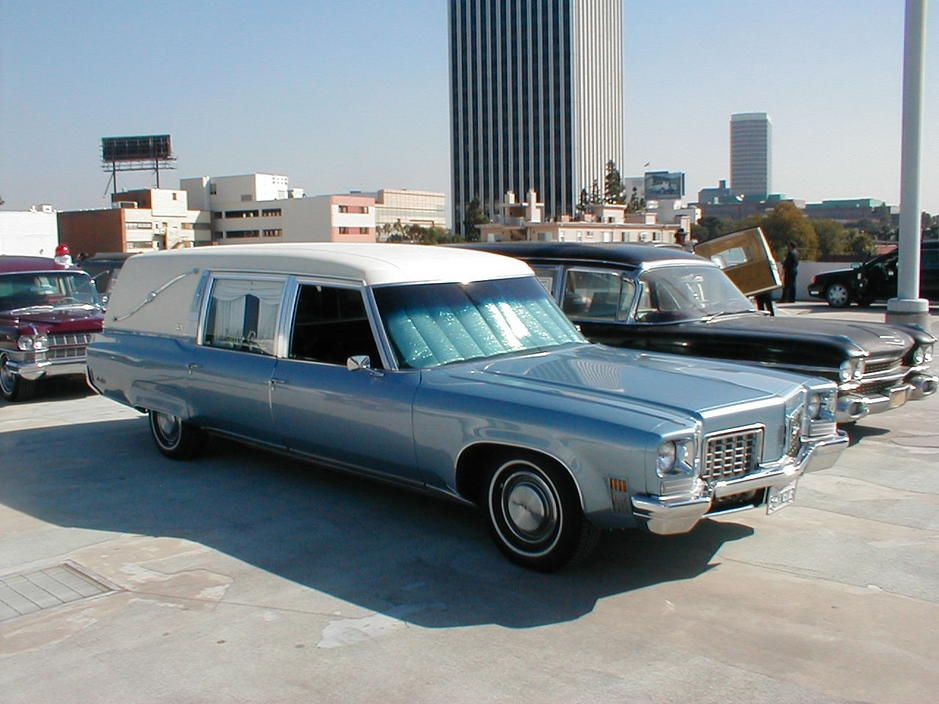 1972 Oldsmobile Landau Hearse Flower car