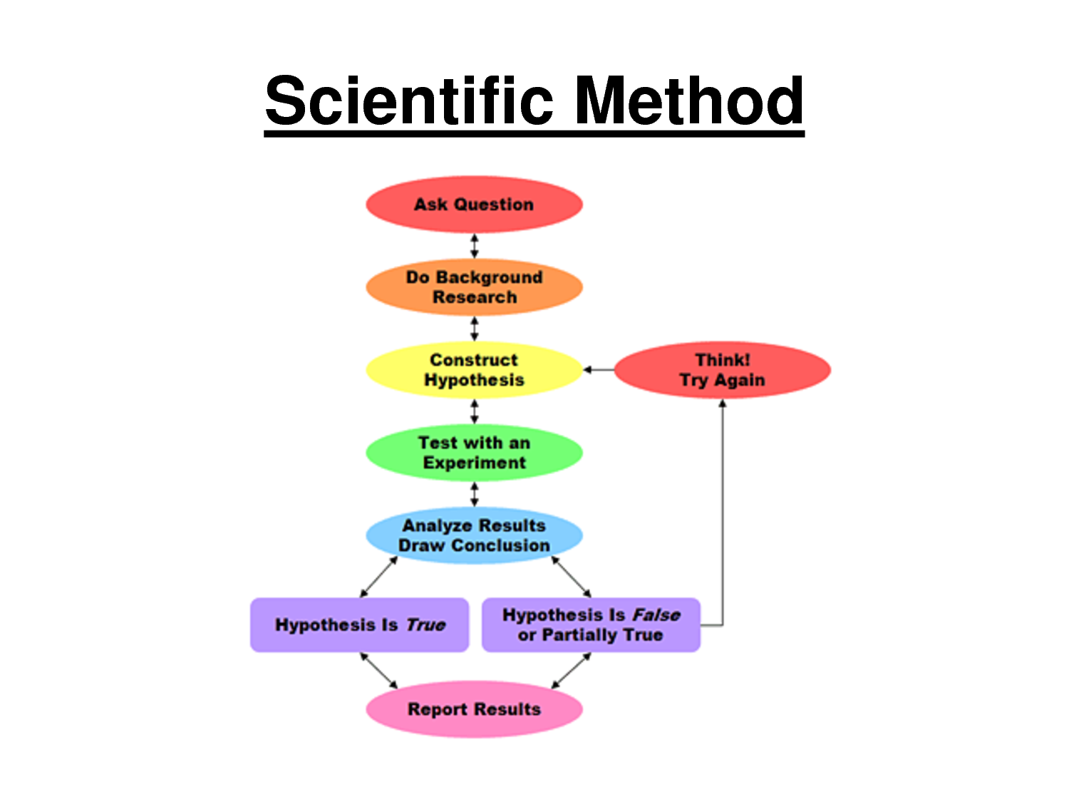 Scientific Method Francis Bacon's method began a