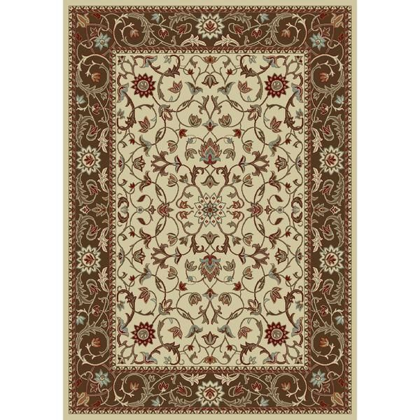 Concord Global Trading Chester Flora Ivory Area Rug Kingdom Rugs 1