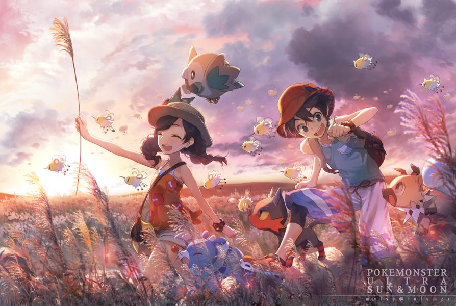 Artist: Melso | Pokémon Ultra Sun & Moon | Cutiefly | Female