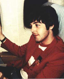 Paul in stripes