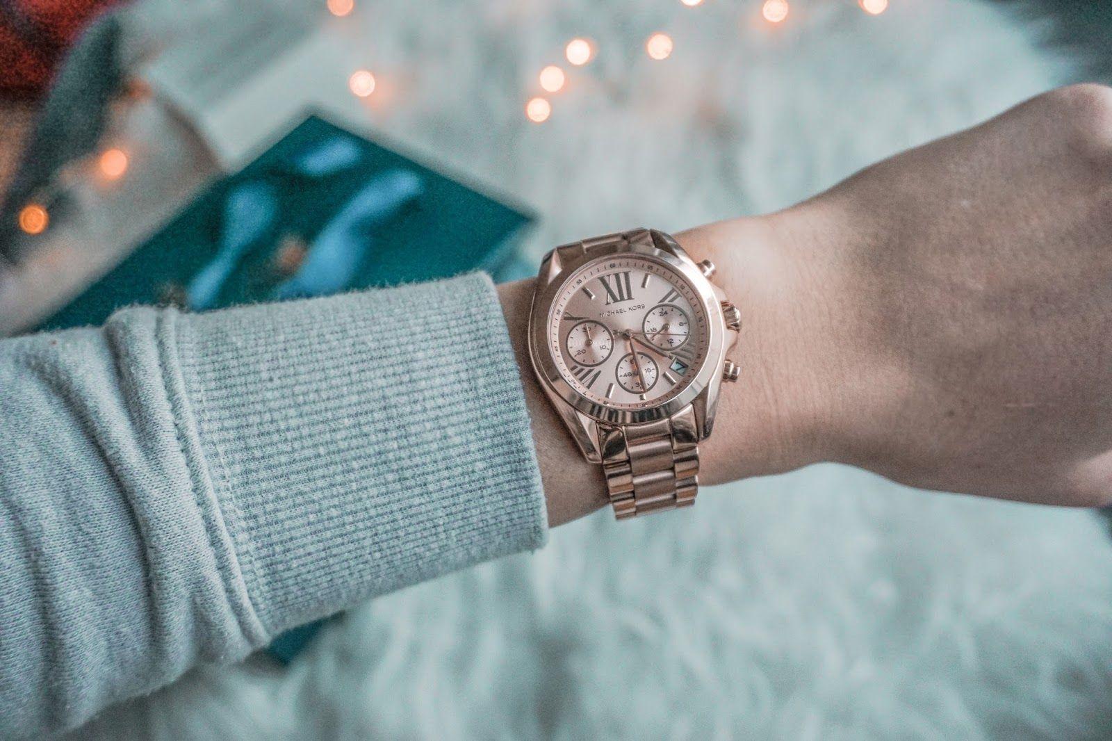 85a72da4 Watch Michael Kors bradshaw mini Rose Gold / fashion, jewellery  #GoldJewelleryMichaelKors