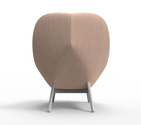 Elegant Doshi Levien Bases Uchiwa Armchair For Hay On A Traditional Japanese Fan Nice Design