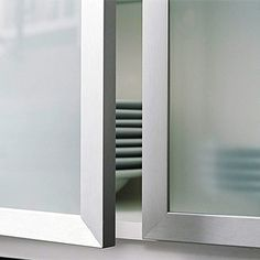 Custom Touches for Small Kitchens | Glass front cabinets, Glass ...
