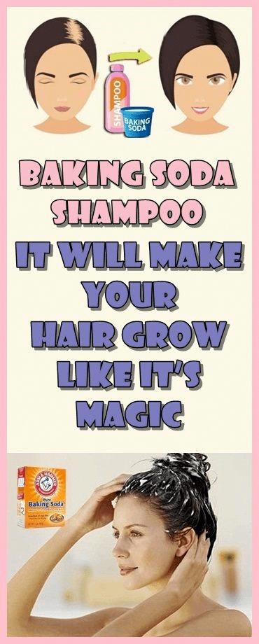 Baking Soda Shampoo It Will Make Your Hair Grow Like It's