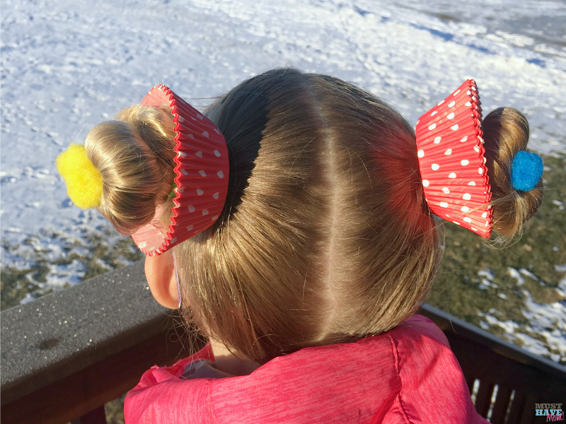 Crazy Hair Day Ideas Girls Cupcake Hairdo - Must Have Mom #crazyhairdayatschoolforgirlseasy Crazy Hair Day Ideas Girls Cupcake Hairdo - Must Have Mom #crazyhairdayatschoolforgirlseasy