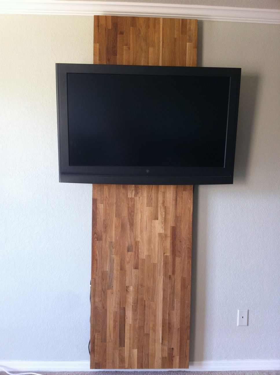 Focal Wall and TV Mount Hack | New House Decor | Pinterest | TV ...