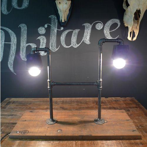 Doppleganger Lamp by Sean Woolsey
