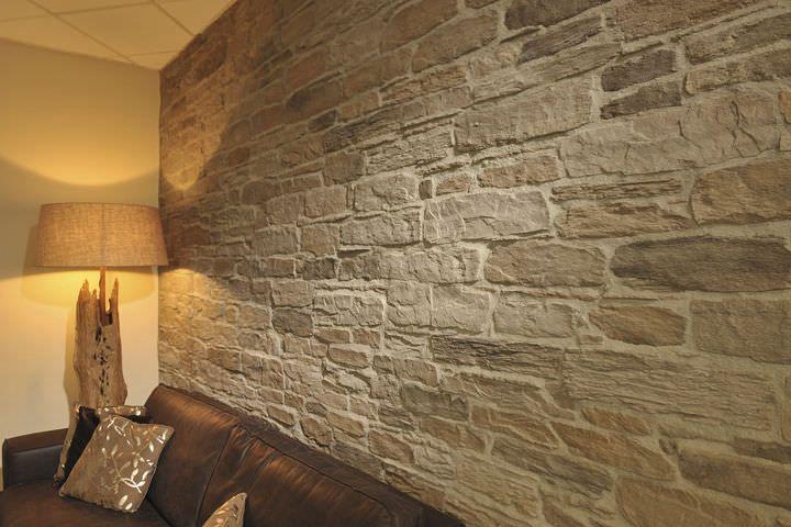 Papier peint imitation pierre decoration home 2016 - Fausse pierre apparente interieur ...