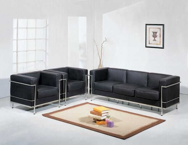 Contemporary Modern Sofa Set Contemporary Leather Sofa