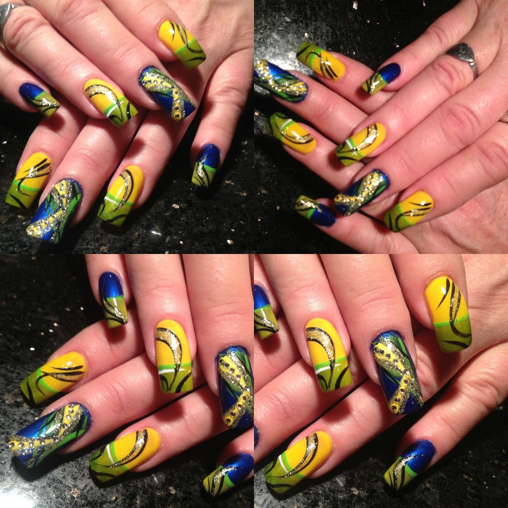 Nail Art Lounge: Nail Art By Me! Come To Any Of My Shops For These Great