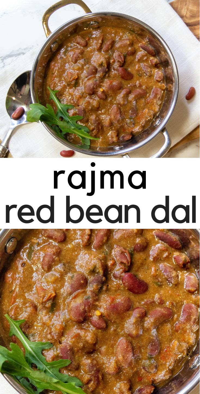 Instant Pot Rajma - Red Bean Dal #indianfood