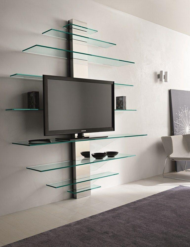 Mobile TV in vetro MONDOVISIONE by T.D. Tonelli Design | design ...