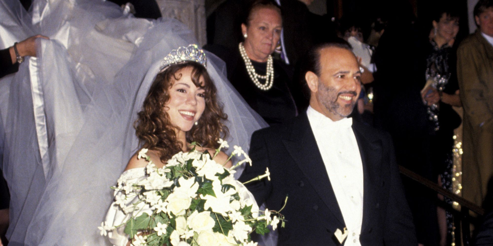 Mariah Carey And Tommy Mottola Wedding Pictures Google Search