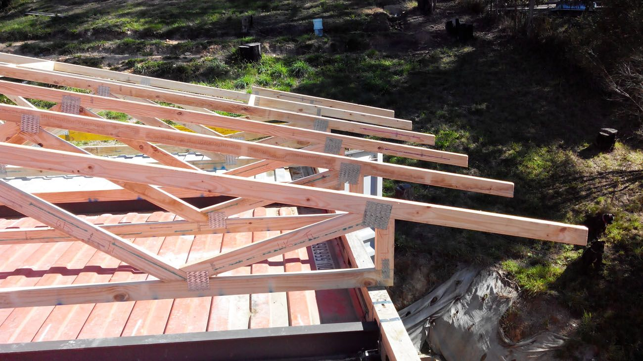 Odpod Container House Roof Truss 2 Odpod Shipping