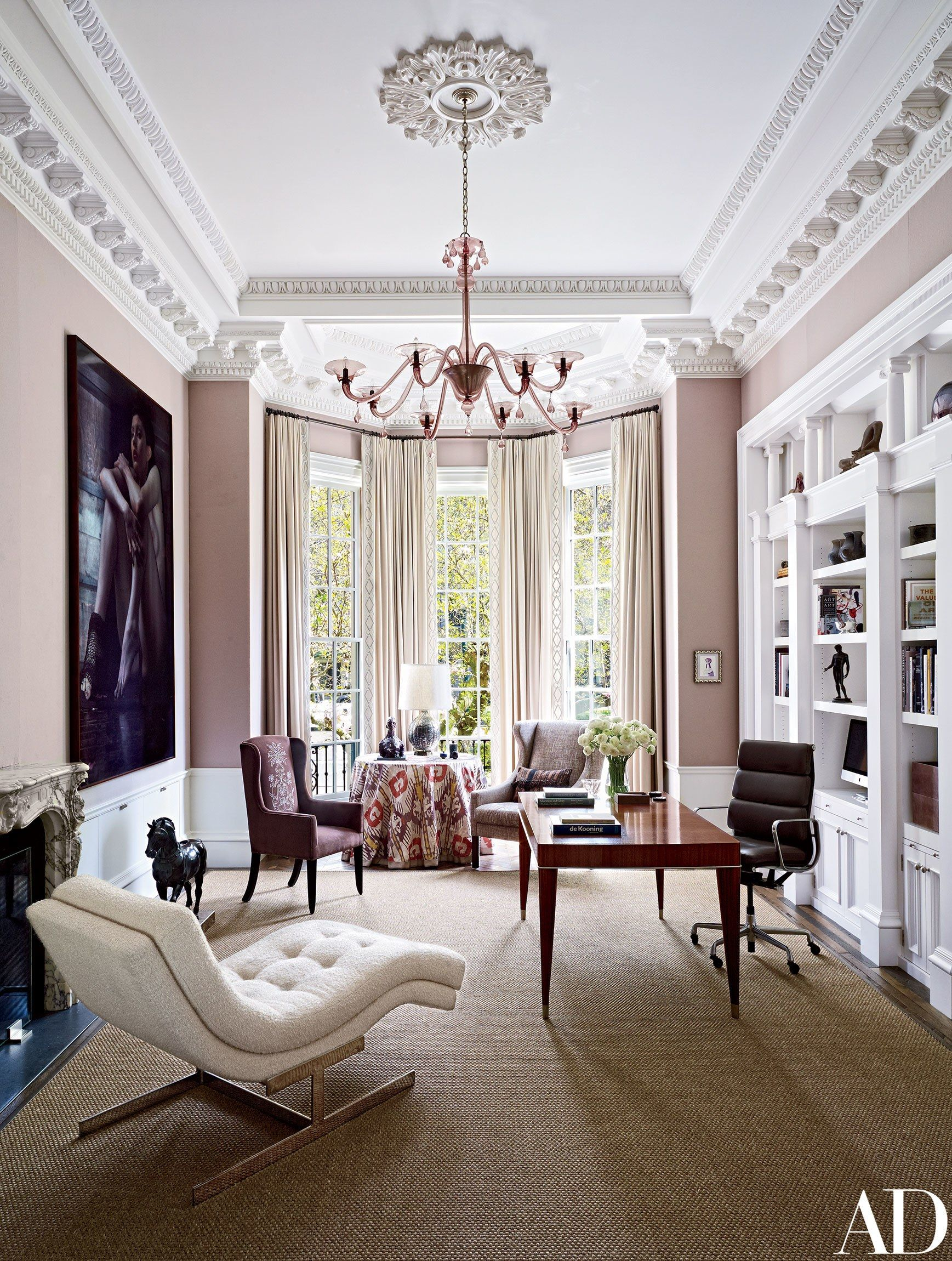 A Historic Boston Townhouse Gets a Glam Update s