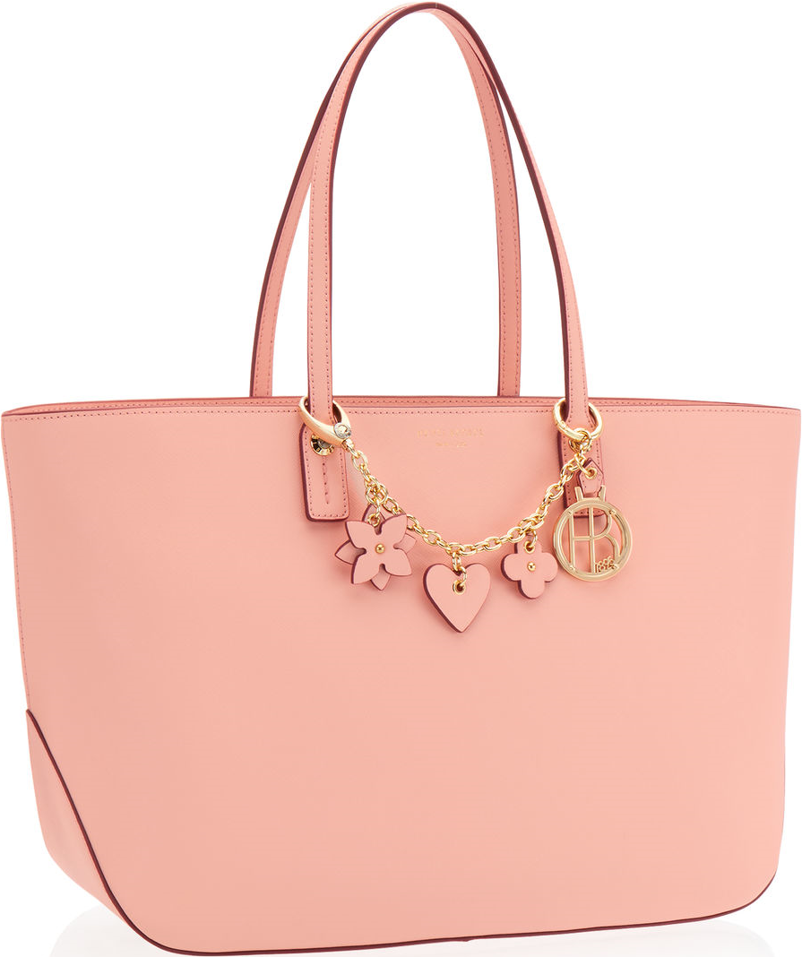 102fe75b0 Henri Bendel Pink West 57th E/W Charm Tote | Handbags | Bag ...