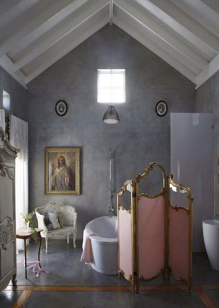 65 Staggering Shabby Chic Bathroom Decor Ideas łazienka