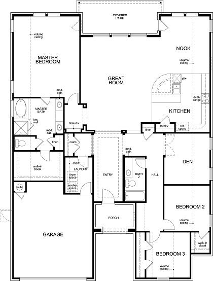 Plan L 2325 Mason Hills The Bluffs Kb Home Kb Homes New Homes Austin New Homes For Sale