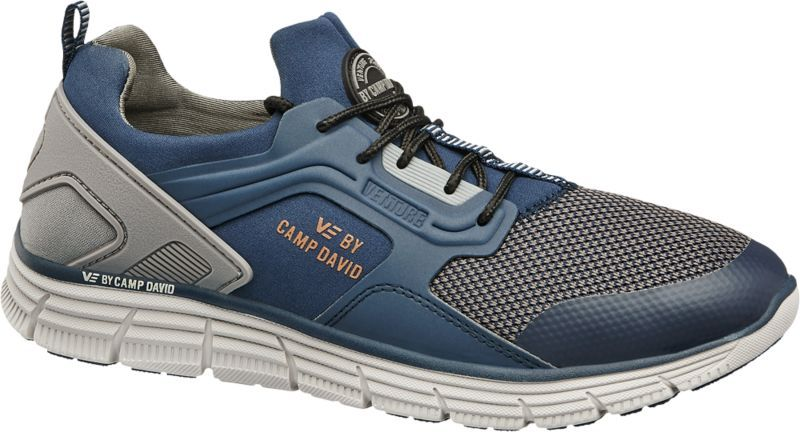 VENTURE BY CAMP DAVID Herren Sneaker blau Neu