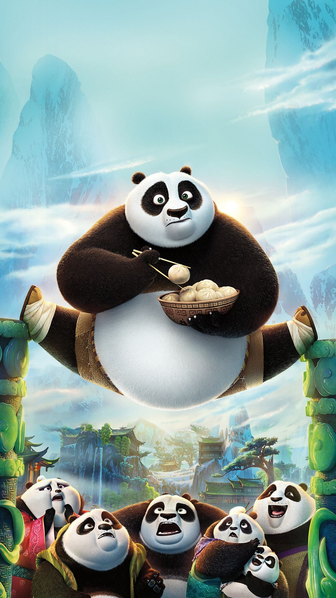 Kung fu panda iphone wallpaper - Kungfu Panda Art Illust Film Disney Iphone Wallpaper