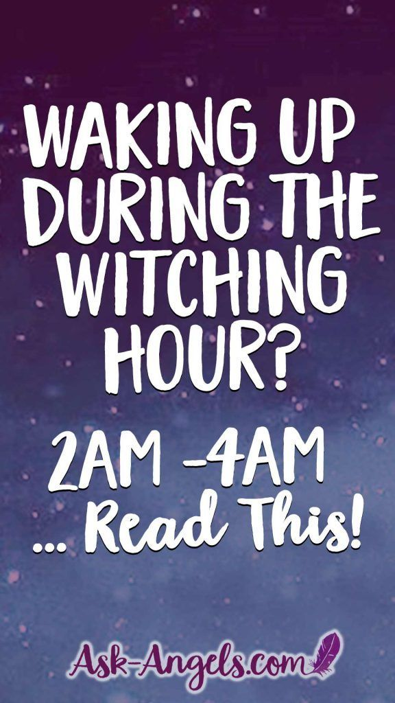 Waking Up During The Witching Hour | What is The Witching Hour?