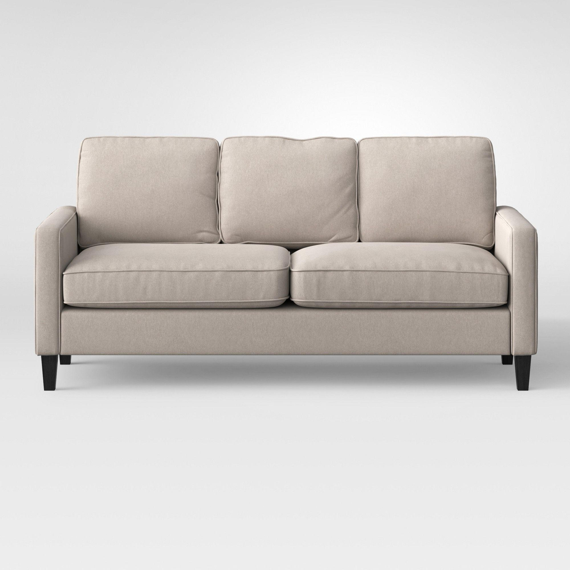 Elmhurst Loose Back Cushion Sofa Beige Project 62 Products