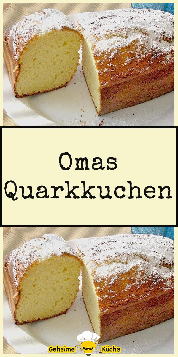 Omas Quarkkuchen In 2020 Kuchen Rezepte Einfach Quarkkuchen Kuchen Und Torten Rezepte