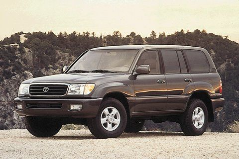 1999 Toyota Land Cruiser Bought Black With Gold Package Loved It Great For Showing Homes Toyota Land Cruiser 100 Land Cruiser Toyota Land Cruiser