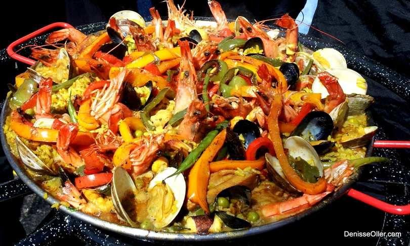 Paella Mixta Mixed Seafood Paella Hispanic Kitchen Seafood