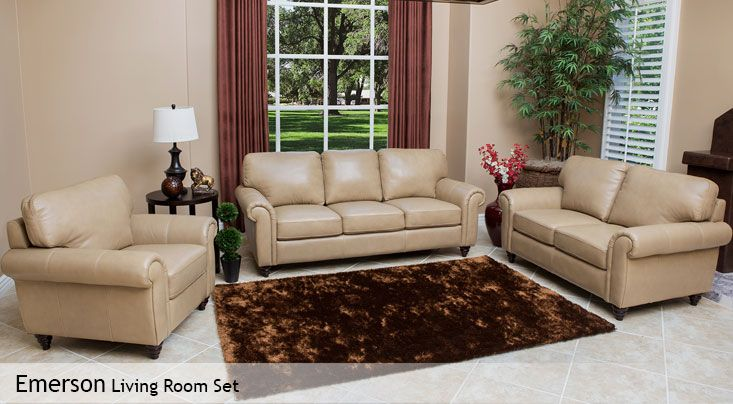 Emerson Living Room Set Costco Living Room Sets Abbyson Living