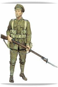Soldat Britannique 14-18 : soldat, britannique, 14-18, Uniforme, Britannique, Soldats, Canadiens,, Guerre,, Première, Guerre, Mondiale