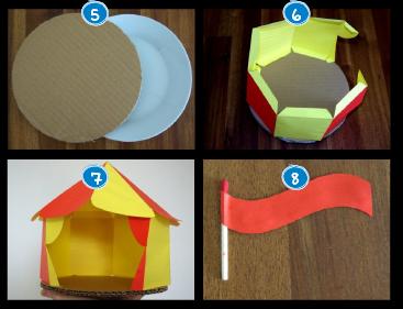 Hacer carpa de circo buscar con google ideas carpa for Como hacer un criadero de carpas