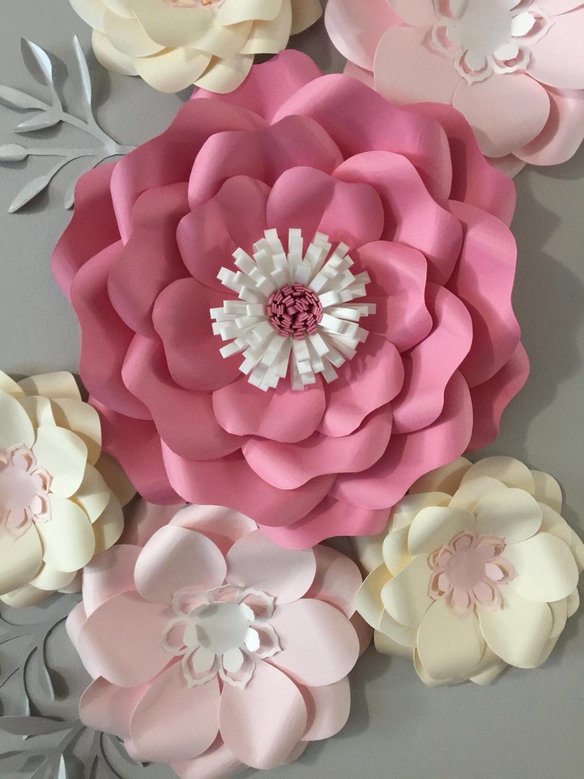 paper flower wall decor australia