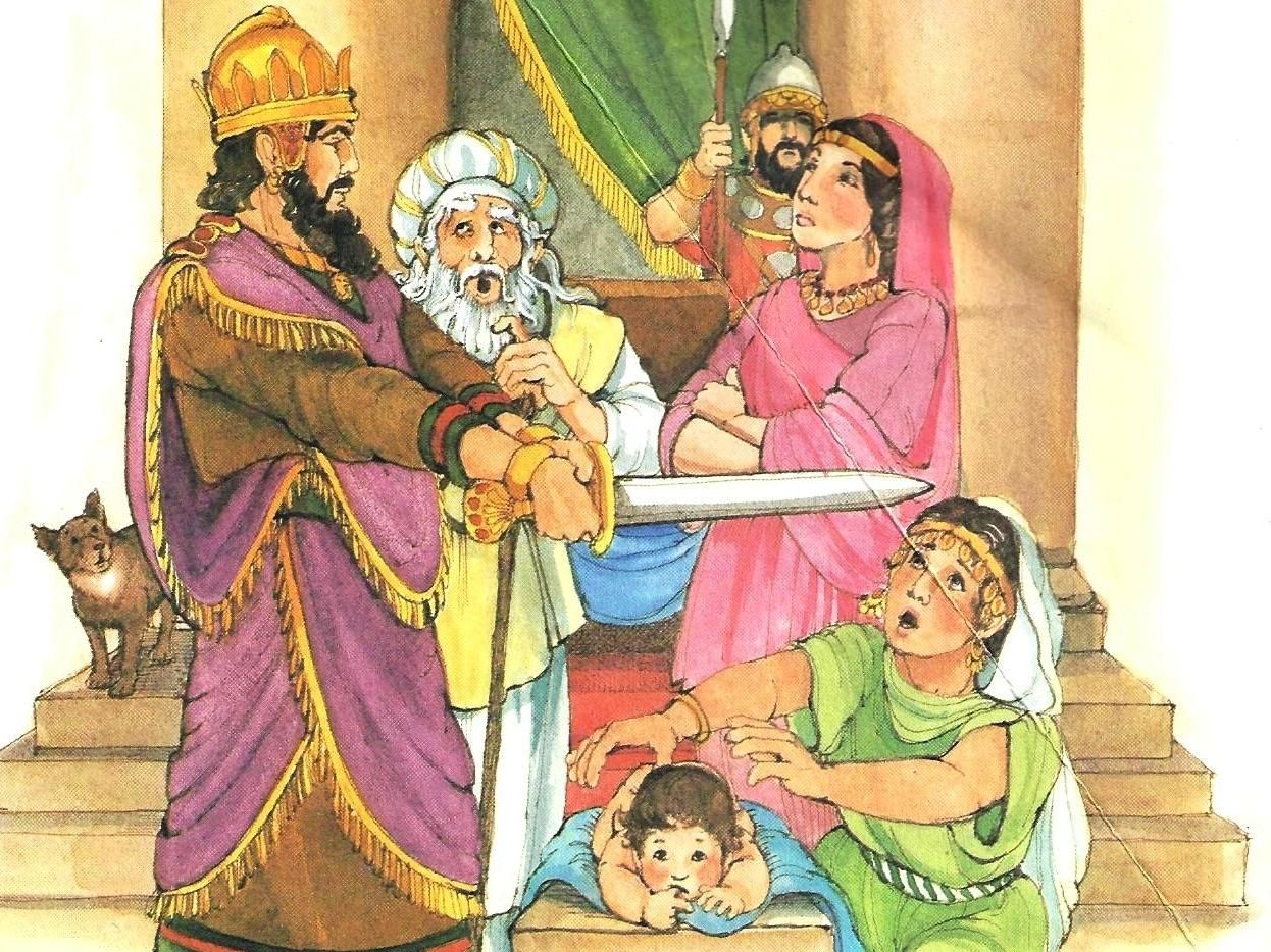 wise king solomon preschool lesson google search king
