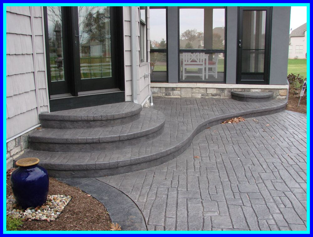 121 reference of patio Ideas stamped concrete patio in