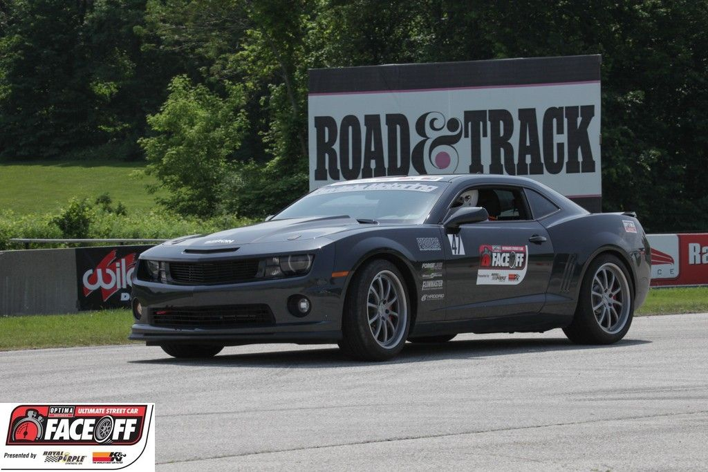 Dannie Pinard's 2013 Chevrolet Camaro at the 2013 OPTIMA