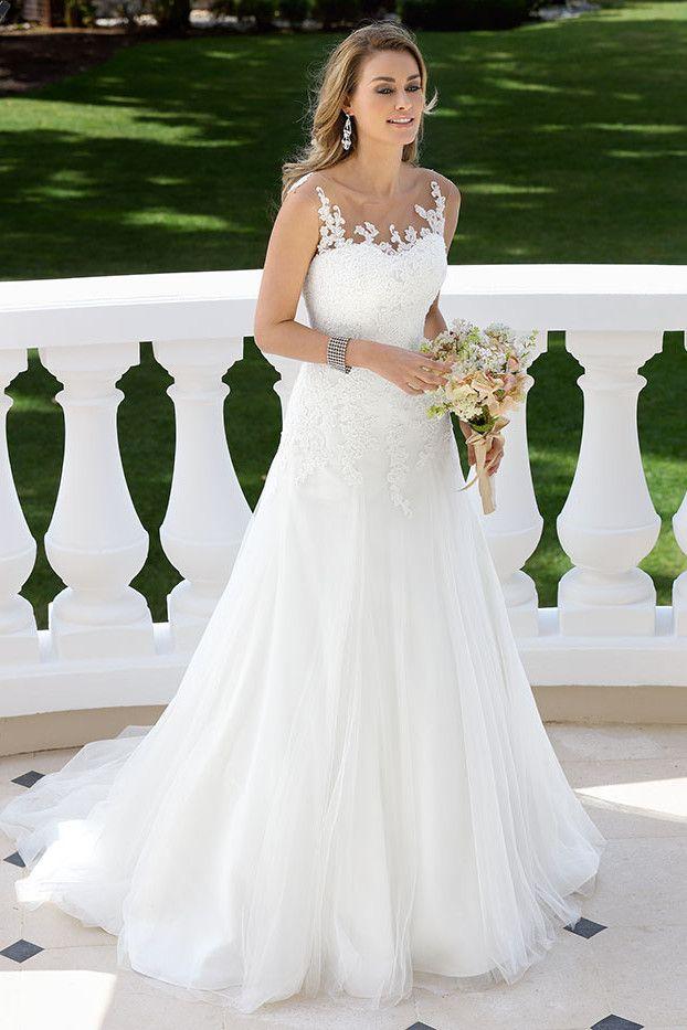 Trouwjurken en bruidsjurken van bruidsmodemerk designer ...