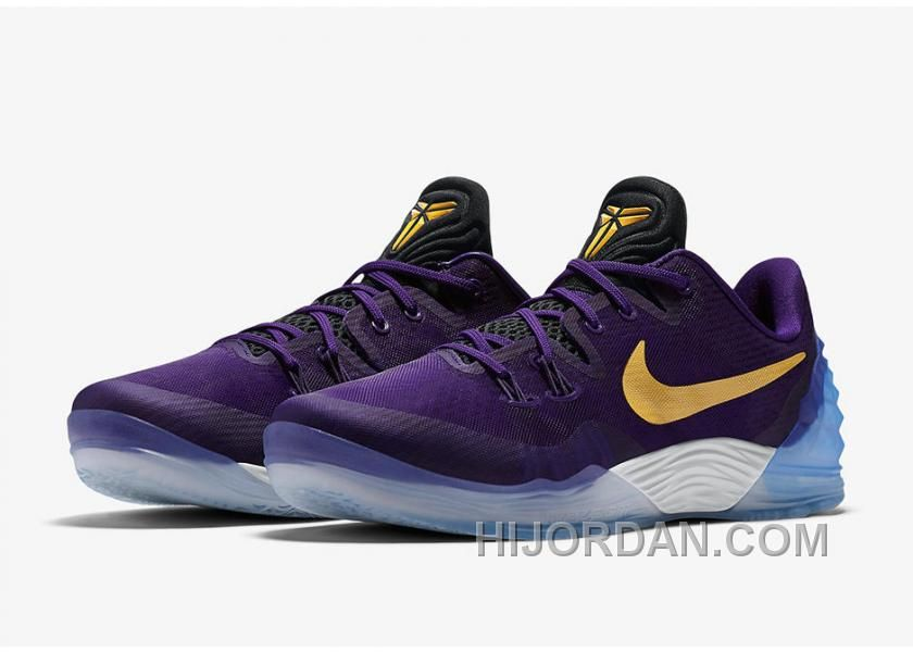 50e6113abace Nike Kobe Venomenon 5 Lakers features the Kobe Bryant s LA Lakers colors in  Court Purple