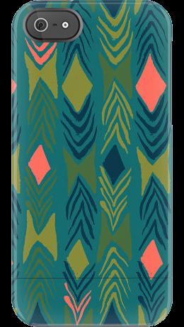 """Diamondback"" by Sarah Watts for the iPhone 5 Capsule"