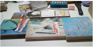 "Wax Photos  Lisa Olsen  ""Whimsical Oddities""  Pre-wax stage."
